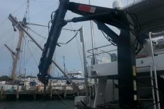 New Knucle crane